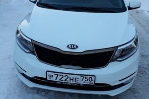Подержанный автомобиль Kia Rio, отличное состояние, 2016 года выпуска, цена 680 000 руб., Воскресенск