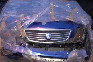 Автомобиль Geely Otaka, битый состояние, 2007 года выпуска, цена 40 000 руб., Москва