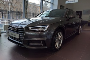 Новый автомобиль Audi A4, 2016 года выпуска, цена 2 879 907 руб., Москва