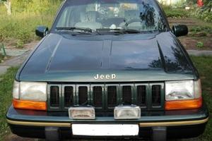 Подержанный автомобиль Jeep Grand Cherokee, хорошее состояние, 1995 года выпуска, цена 250 000 руб., Казань