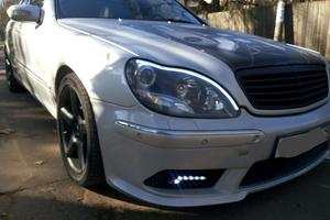 Подержанный автомобиль Mercedes-Benz S-Класс, отличное состояние, 2000 года выпуска, цена 360 000 руб., Апрелевка