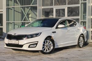 Авто Kia Optima, 2014 года выпуска, цена 1 050 000 руб., Санкт-Петербург