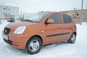 Подержанный автомобиль Kia Picanto, хорошее состояние, 2007 года выпуска, цена 180 000 руб., Копейск