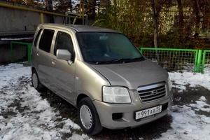 Автомобиль Suzuki Wagon R, хорошее состояние, 2002 года выпуска, цена 215 000 руб., Омск