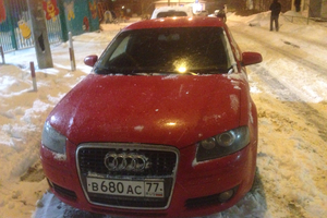 Подержанный автомобиль Audi A3, хорошее состояние, 2007 года выпуска, цена 395 000 руб., Лобня