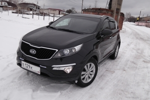 Автомобиль Kia Sportage, отличное состояние, 2012 года выпуска, цена 970 000 руб., Электрогорск