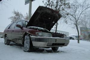 Автомобиль Toyota Sprinter Carib, среднее состояние, 1992 года выпуска, цена 60 000 руб., Челябинск