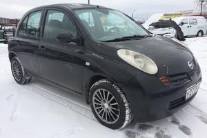 Авто Nissan Micra, 2004 года выпуска, цена 180 000 руб., Санкт-Петербург