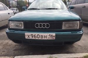 Автомобиль Audi 80, хорошее состояние, 1990 года выпуска, цена 70 000 руб., Югорск