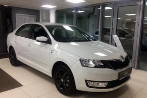 Авто Skoda Rapid, 2016 года выпуска, цена 958 300 руб., Санкт-Петербург