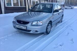 Автомобиль Hyundai Accent, отличное состояние, 2005 года выпуска, цена 220 000 руб., Челябинск