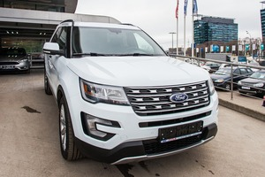 Авто Ford Explorer, 2016 года выпуска, цена 3 027 370 руб., Москва