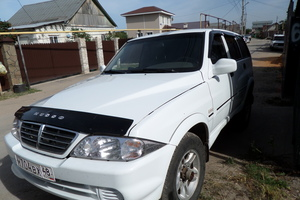 Автомобиль SsangYong Musso, хорошее состояние, 2008 года выпуска, цена 310 000 руб., Липецк