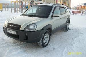 Автомобиль Hyundai Tucson, хорошее состояние, 2007 года выпуска, цена 510 000 руб., Сургут