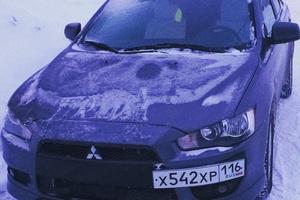 Автомобиль Mitsubishi Lancer, отличное состояние, 2008 года выпуска, цена 370 000 руб., Набережные Челны
