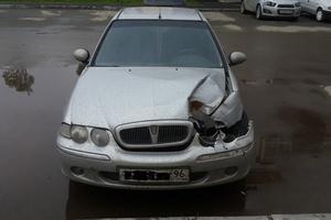 Автомобиль Rover 45, битый состояние, 2003 года выпуска, цена 140 000 руб., Екатеринбург