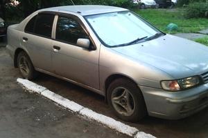 Автомобиль Nissan Pulsar, среднее состояние, 1999 года выпуска, цена 115 000 руб., Омск