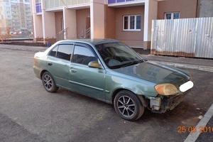 Автомобиль Hyundai Accent, среднее состояние, 2003 года выпуска, цена 140 000 руб., Челябинск