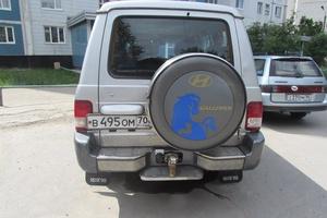 Автомобиль Hyundai Galloper, хорошее состояние, 2002 года выпуска, цена 450 000 руб., Новосибирская область