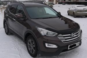 Автомобиль Hyundai Santa Fe, отличное состояние, 2013 года выпуска, цена 1 360 000 руб., Челябинск