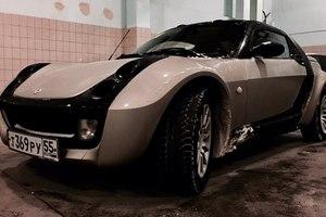 Автомобиль Smart Roadster, хорошее состояние, 2003 года выпуска, цена 480 000 руб., Омск