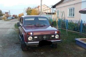 Подержанный автомобиль ВАЗ (Lada) 4x4, хорошее состояние, 2007 года выпуска, цена 145 000 руб., Карталы