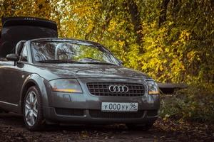 Подержанный автомобиль Audi TT, среднее состояние, 2003 года выпуска, цена 510 000 руб., Екатеринбург