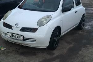 Автомобиль Nissan March, хорошее состояние, 2002 года выпуска, цена 180 000 руб., Ростов-на-Дону