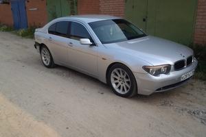 Подержанный автомобиль BMW 7 серия, хорошее состояние, 2001 года выпуска, цена 450 000 руб., Нягань