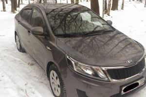 Автомобиль Kia Rio, отличное состояние, 2013 года выпуска, цена 490 000 руб., Урай