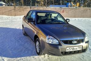 Подержанный автомобиль ВАЗ (Lada) Priora, отличное состояние, 2016 года выпуска, цена 400 000 руб., Сергиев Посад
