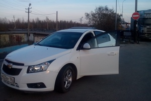 Подержанный автомобиль Chevrolet Cruze, хорошее состояние, 2012 года выпуска, цена 465 000 руб., Нефтеюганск