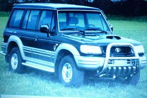 Автомобиль Hyundai Galloper, отличное состояние, 2000 года выпуска, цена 420 000 руб., Санкт-Петербург