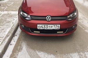 Подержанный автомобиль Volkswagen Polo, отличное состояние, 2012 года выпуска, цена 440 000 руб., Югорск