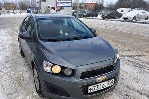 Автомобиль Chevrolet Aveo, отличное состояние, 2013 года выпуска, цена 460 000 руб., Голицыно