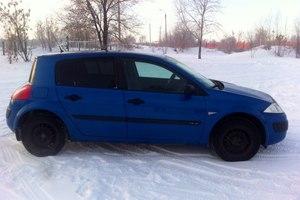 Подержанный автомобиль Renault Megane, хорошее состояние, 2004 года выпуска, цена 220 000 руб., Магнитогорск