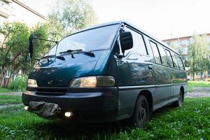 Автомобиль Hyundai Grace, битый состояние, 1996 года выпуска, цена 80 000 руб., Иркутск