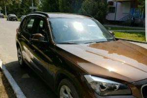 Подержанный автомобиль BMW X1, отличное состояние, 2014 года выпуска, цена 1 200 000 руб., Казань