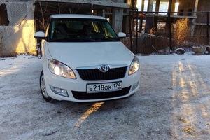 Подержанный автомобиль Skoda Fabia, хорошее состояние, 2011 года выпуска, цена 370 000 руб., Челябинск