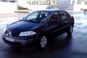 Подержанный автомобиль Renault Megane, отличное состояние, 2008 года выпуска, цена 300 000 руб., Челябинск