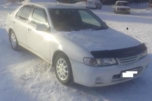 Автомобиль Nissan Pulsar, хорошее состояние, 1997 года выпуска, цена 100 000 руб., Омск