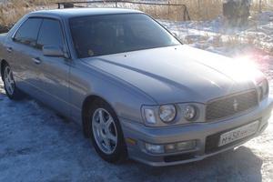 Автомобиль Nissan Gloria, хорошее состояние, 2000 года выпуска, цена 405 000 руб., Челябинск