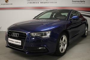 Подержанный автомобиль Audi A5, отличное состояние, 2013 года выпуска, цена 1 150 000 руб., Москва