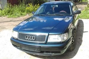 Подержанный автомобиль Audi 100, хорошее состояние, 1993 года выпуска, цена 120 000 руб., Псков