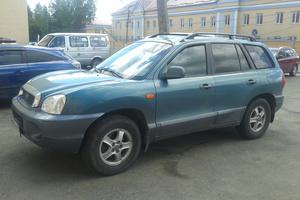 Подержанный автомобиль Hyundai Santa Fe, хорошее состояние, 2002 года выпуска, цена 365 000 руб., Ступино