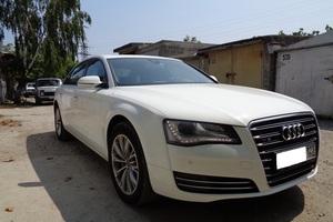 Подержанный автомобиль Audi A8, отличное состояние, 2011 года выпуска, цена 1 350 000 руб., Новороссийск