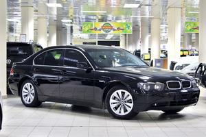 Авто BMW 7 серия, 2002 года выпуска, цена 399 999 руб., Москва