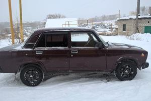 Автомобиль ВАЗ (Lada) 2107, хорошее состояние, 2006 года выпуска, цена 80 000 руб., Сатка