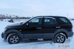 Подержанный автомобиль Kia Sorento, хорошее состояние, 2002 года выпуска, цена 420 000 руб., Челябинск