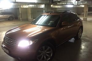 Подержанный автомобиль Infiniti FX-Series, хорошее состояние, 2003 года выпуска, цена 615 000 руб., Челябинск